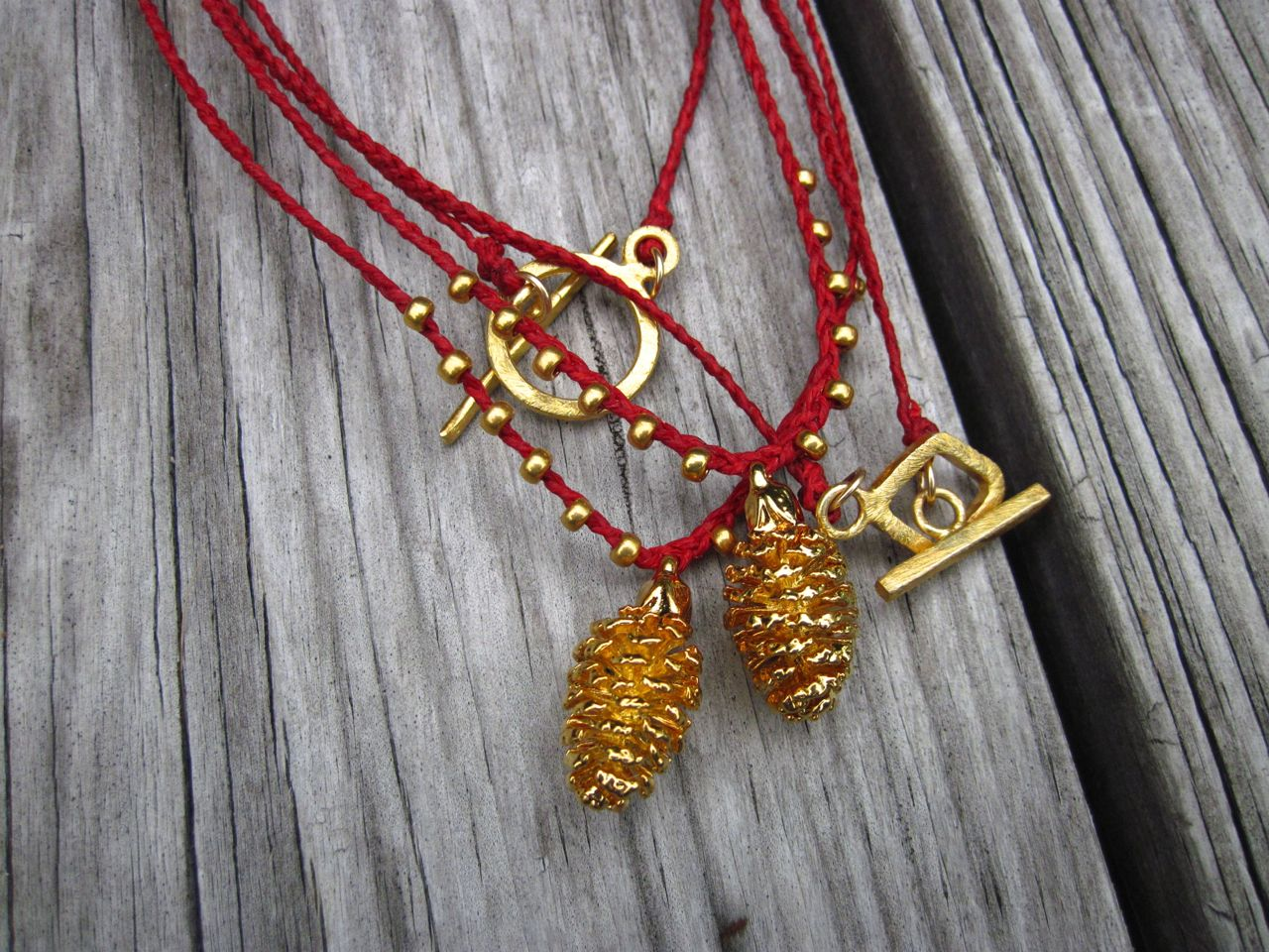 Pinecone Necklaces