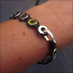 Stainless steal circle bracelet