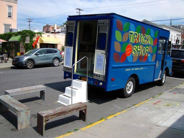 Truck Shop set up in Hudson, NY 0590429_1449286195341396_2893924564462984164_n