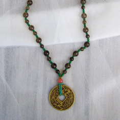 Chinese Coin Necklace