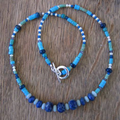 Sodalite Sea Change Necklace