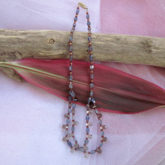 Iolite Ophelia Necklace