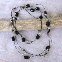 Tumbled Tourmaline Necklace