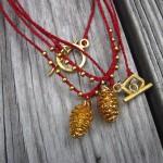 Pinecone Necklaces